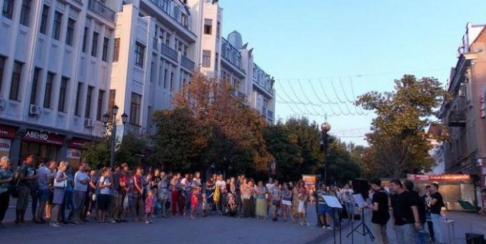 Граждан города приглашают наконцерт ансамбля «Bright Light»